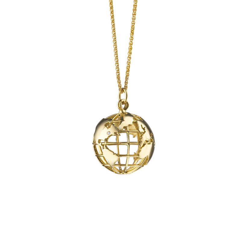 "Monica Rich-Kosann ""My Earth"" Charm Necklace"