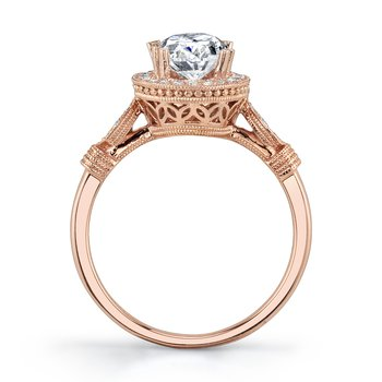 MARS 27124 Engagement Ring, 0.15 Ctw.