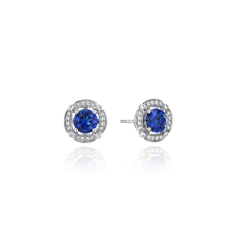 Fana From Dawn to Dusk All-Occasion Sapphire and Diamond Studs