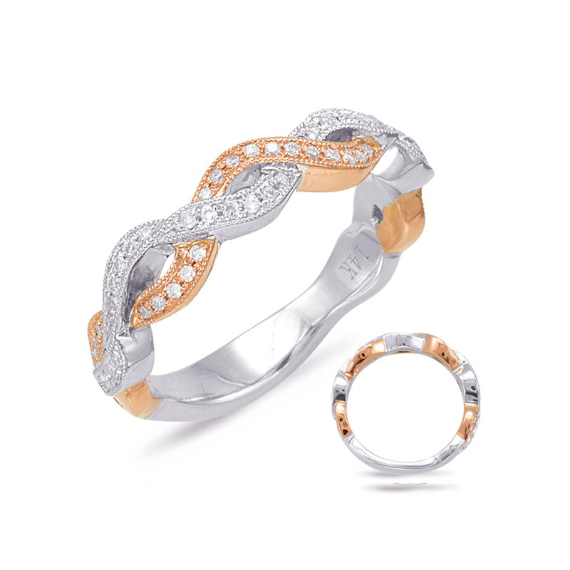 Briana White & Rose Gold Matching Band