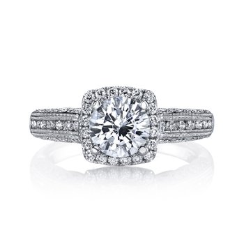 MARS 26701 Diamond Engagement Ring 0.47 Ctw.