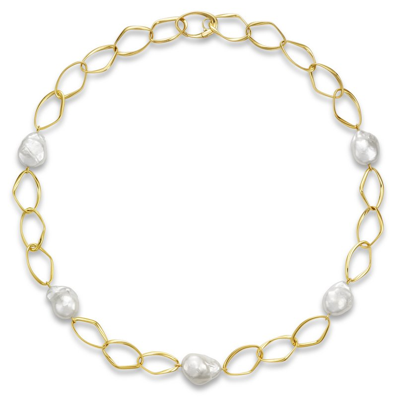 Mastoloni Pearls Fireball Montauk Necklace