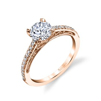 Classic Engagement Ring - Amorette