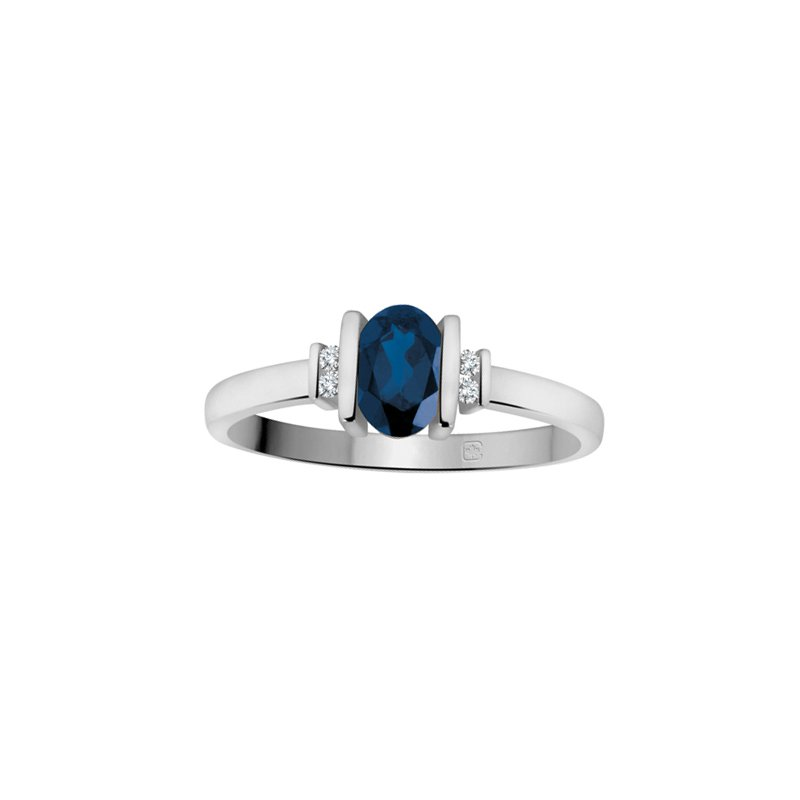 Diamond Wishes Sapphire Ladies Ring