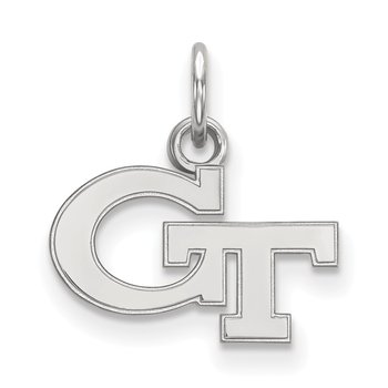 Sterling Silver Georgia Institute of Technology NCAA Pendant