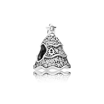 Twinkling Christmas Tree, Clear CZ