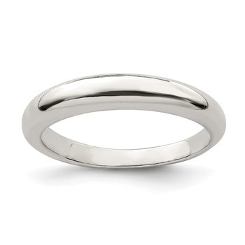 Sterling Silver Stackable Band