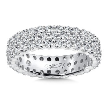 Eternity Band (Size 6.5) in 14K White Gold (2.34ct. tw.)