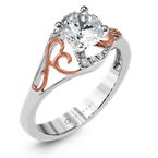 Zeghani ZR1189 ENGAGEMENT RING