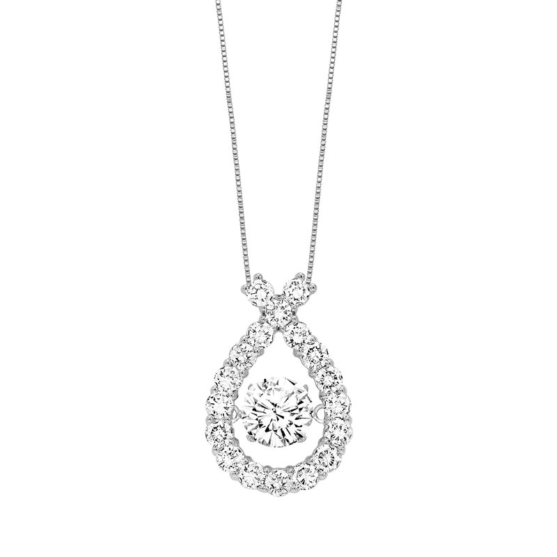 Rhythm of Love 14K Diamond Rhythm Of Love Pendant 2 ctw