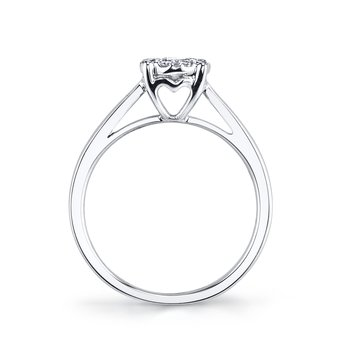 MARS 26280 Diamond Engagement Ring, 0.30 Ctw.