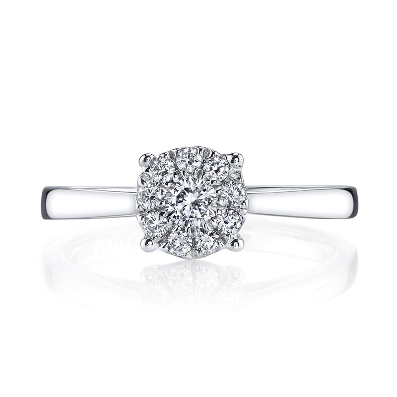 MARS Jewelry MARS 26280 Diamond Engagement Ring, 0.30 Ctw.