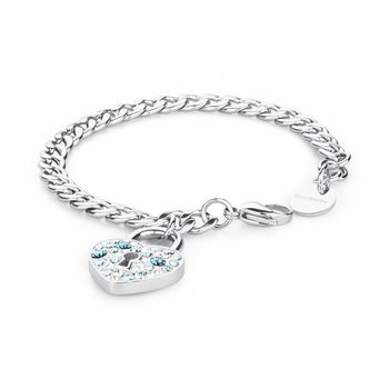 316L stainless steel and coloured crystals Swarovski® Elements