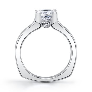 MARS 25969 Diamond Engagement Ring 0.55 Ctw.