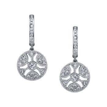 MARS 26380 Fashion Earrings, 0.67 Ctw.