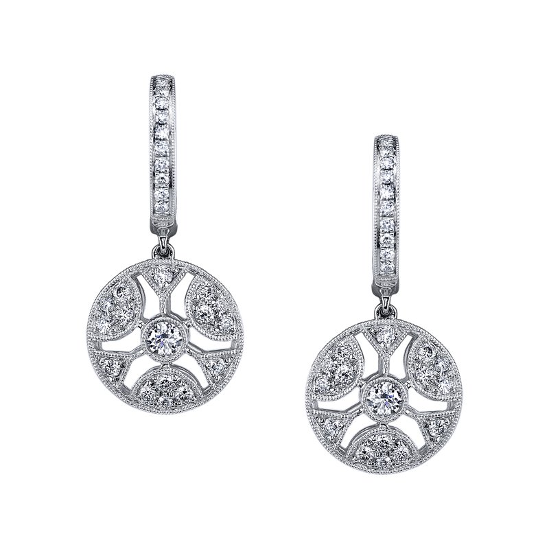 MARS Jewelry MARS 26380 Fashion Earrings, 0.67 Ctw.
