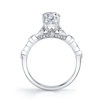 MARS 27131 Diamond Engagement Ring 0.20 ct tw