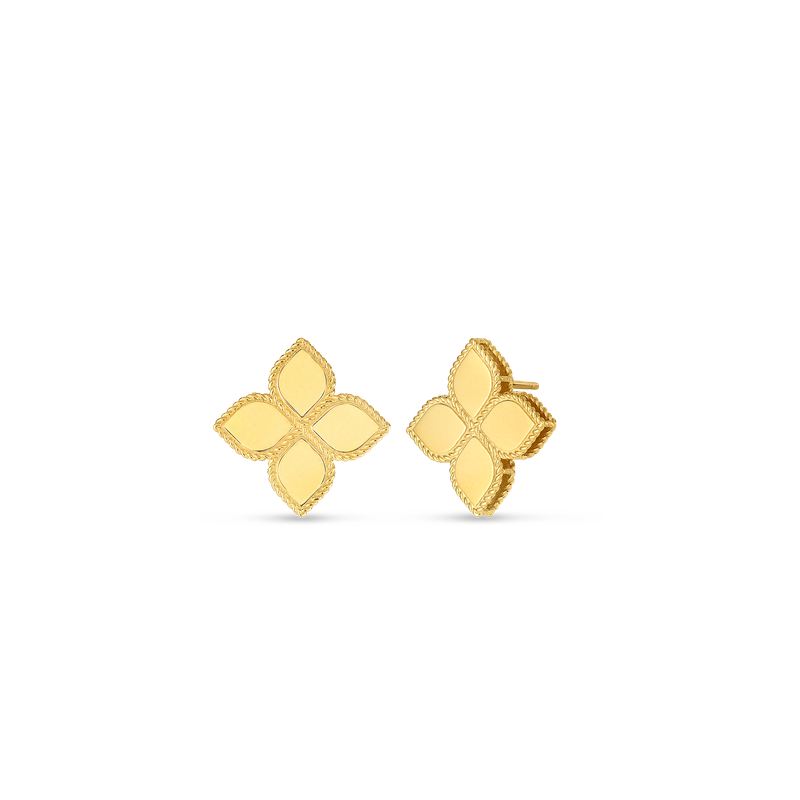 Roberto Coin 18KT GOLD LARGE STUD EARRINGS
