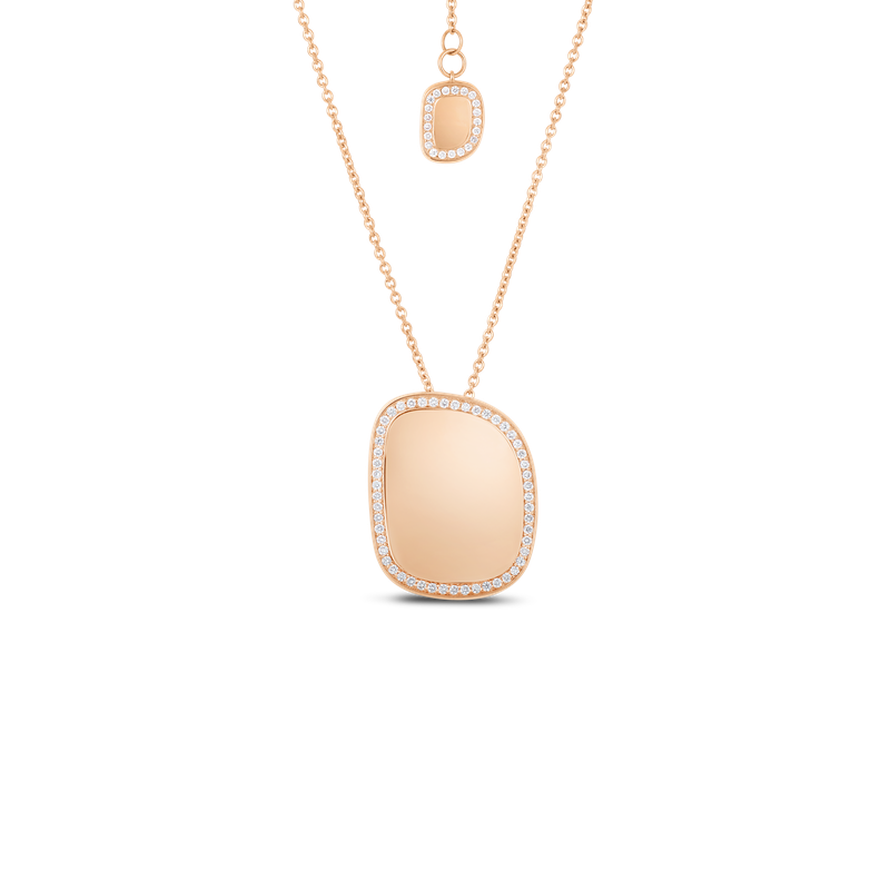 Roberto Coin 18Kt Gold Pendant With Diamonds