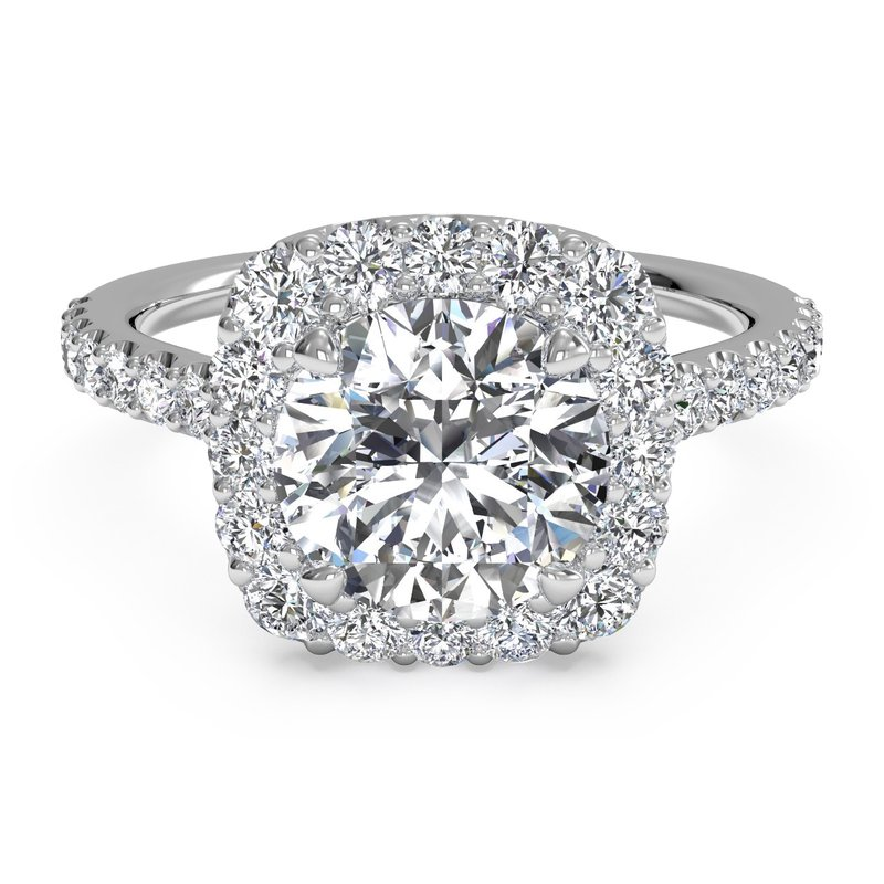 Ritani Halo Diamond Engagement Ring