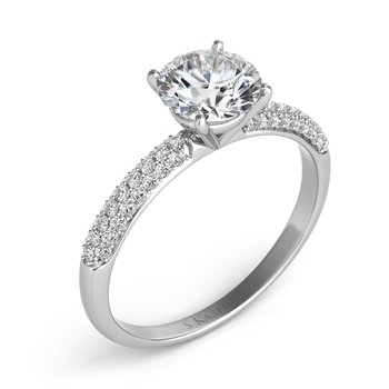 Paltinum Engagement Ring