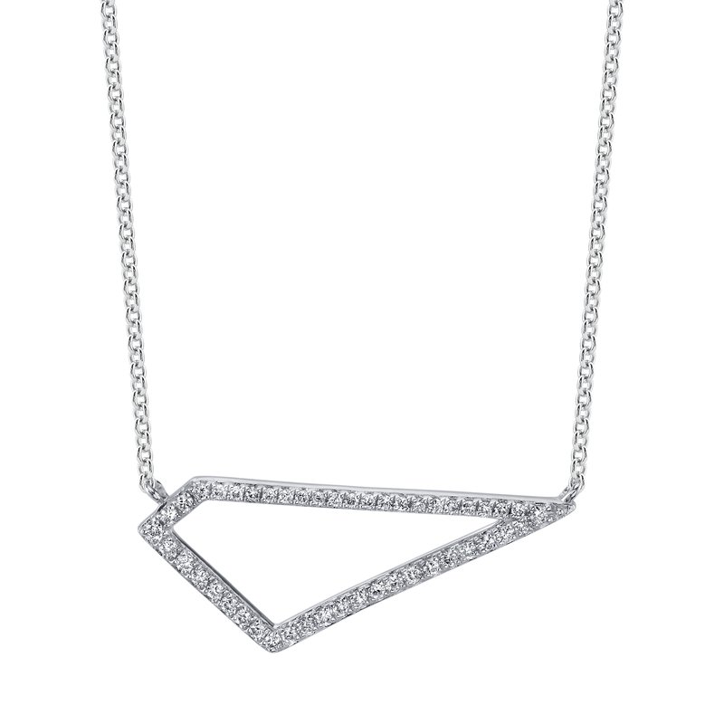 MARS Jewelry MARS 26848 Fashion Necklace, 0.13 Ctw.