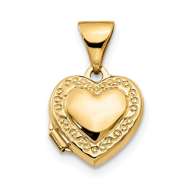 Quality Gold 14k Heart Locket