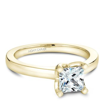 Noam Carver Modern Engagement Ring B038-02YA
