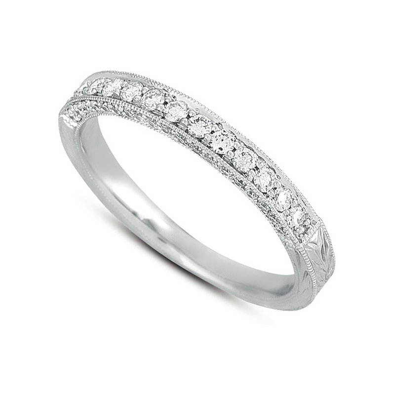 S. Kashi & Sons Bridal Matching Band For EN7201 Platinum