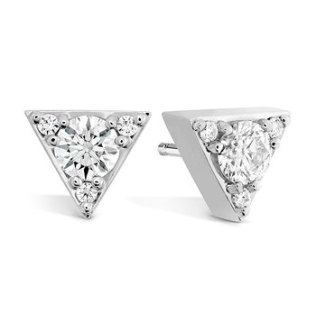 0.5 ctw. Triplicity Triangle Stud Earrings
