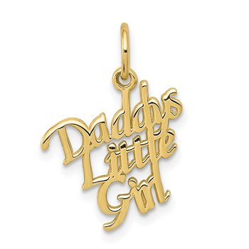 10k DADDYS LITTLE GIRL Charm