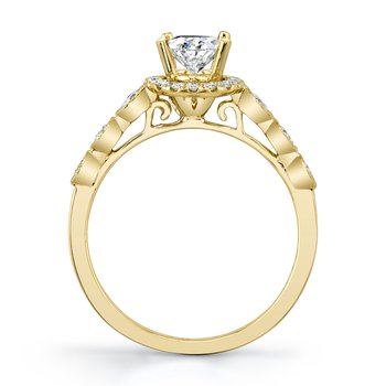 MARS 27172 Diamond Engagement Ring, 0.31 Ctw.