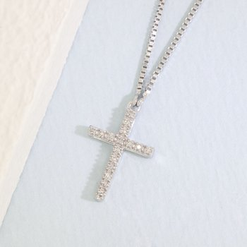 Believe Sterling Silver Necklace