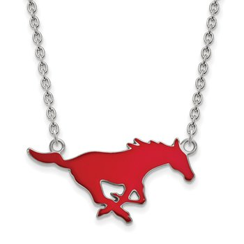 Sterling Silver Southern Methodist University NCAA Necklace