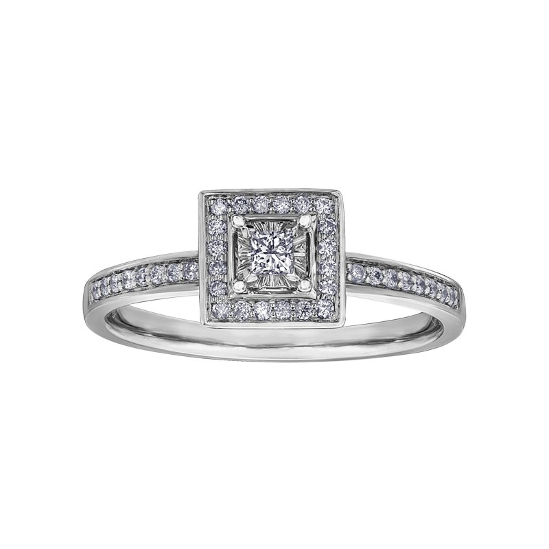 I Am Canadian I am Canadian™ Diamond Ladies Engagement Ring