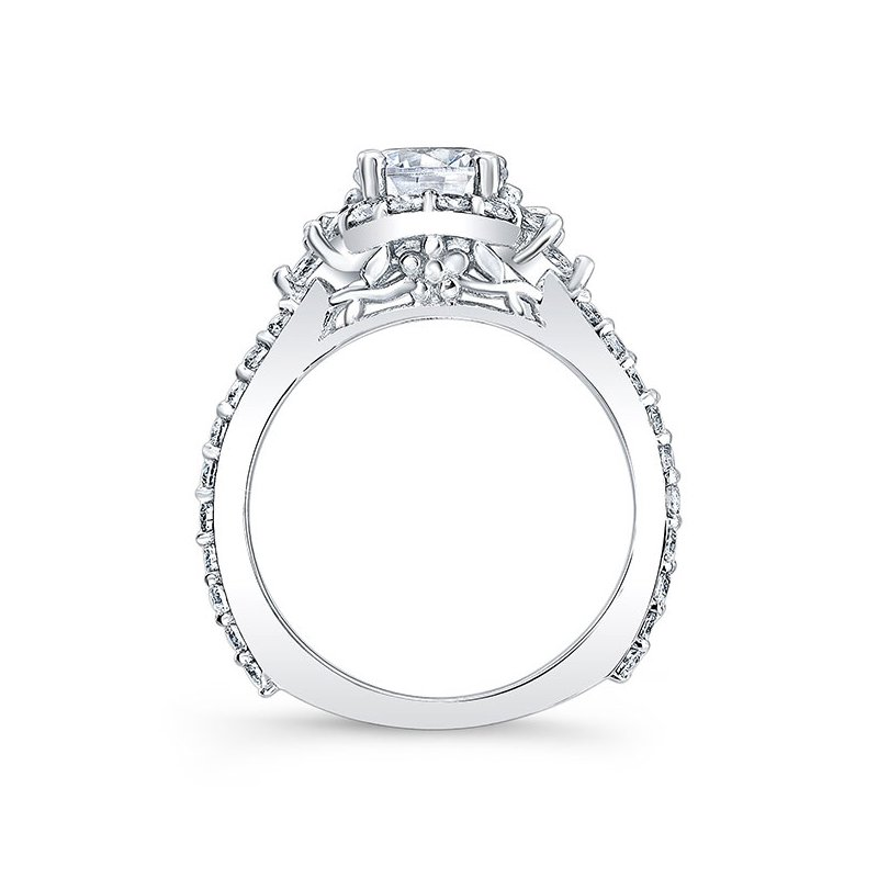 Barkev's Halo Engagement Ring