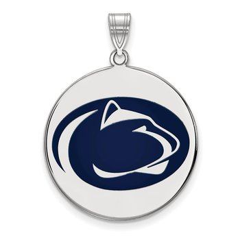 Sterling Silver Pennsylvania State University NCAA Pendant