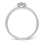 Simon G LR1170-OV ENGAGEMENT RING