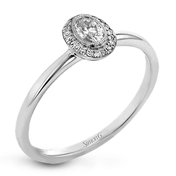 LR1170-OV ENGAGEMENT RING