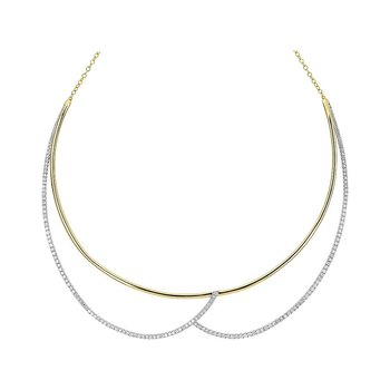 Diamond Fashion Necklace - FDNK1268YW