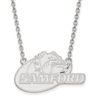 Sterling Silver Samford University NCAA Necklace