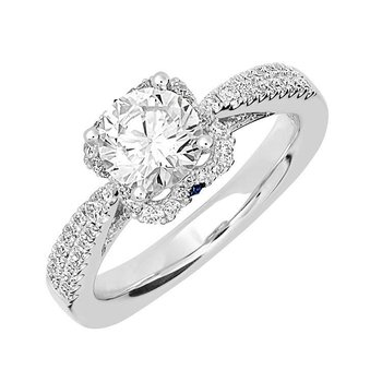 Bridal Ring-RE12641W10R