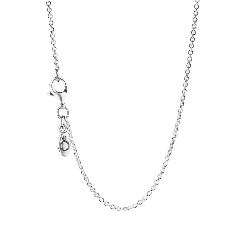 PANDORA Sterling Silver Chain Necklace, Adjustable