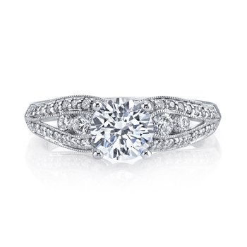 MARS 25832 Diamond Engagement Ring 0.49 ct tw