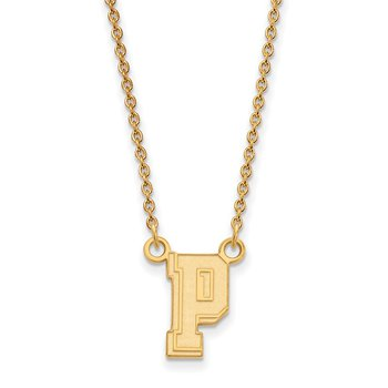 Gold University of Pittsburgh NCAA Necklace