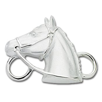 Sterling Silver Horse Head
