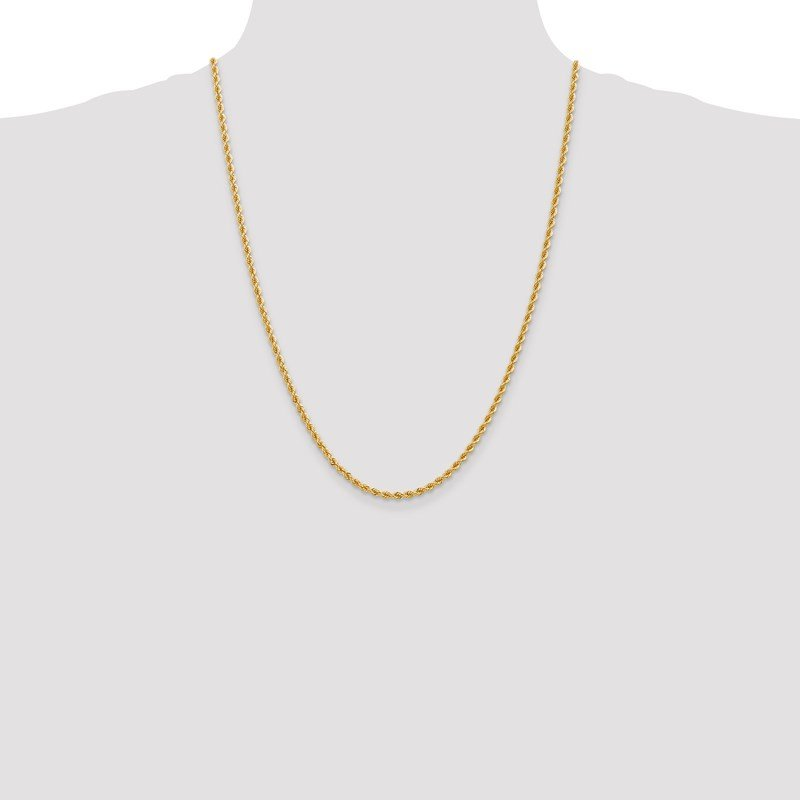 Leslie's Leslie's 14K 2.75mm Regular Rope Chain