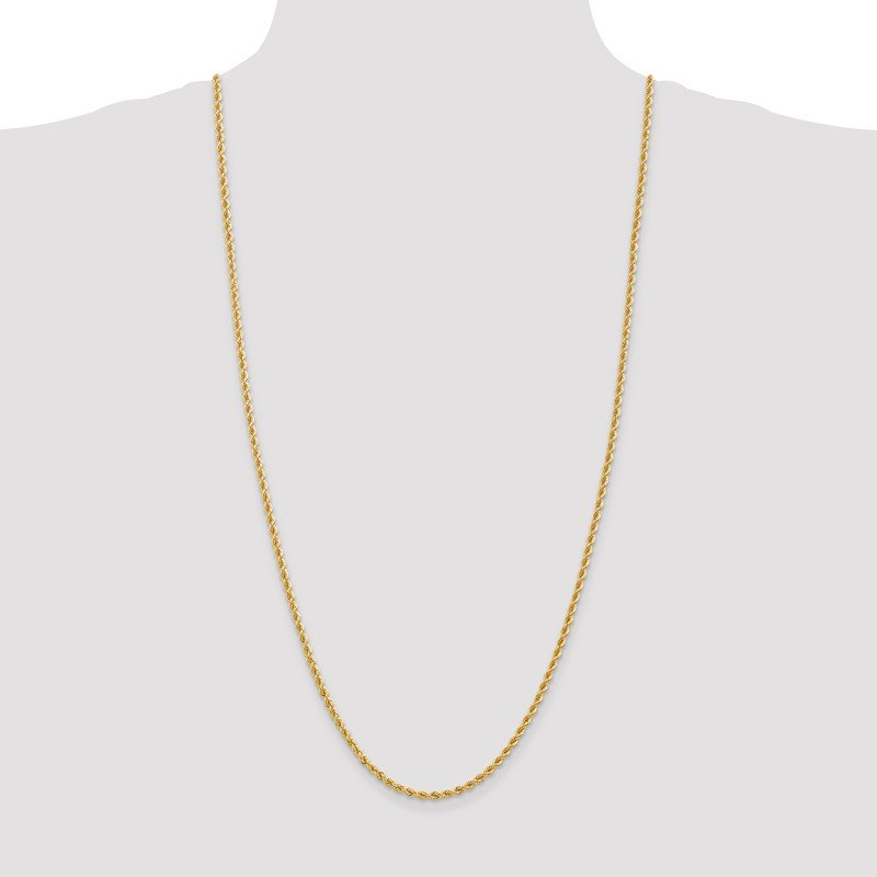 Leslie's Leslie's 14K 2.75mm Solid Regular Rope Chain
