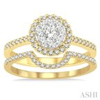 Crocker's Collection lovebright bridal diamond wedding set