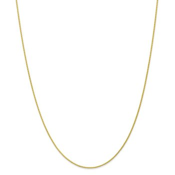 10k 1.2mm Parisian Wheat Chain Anklet